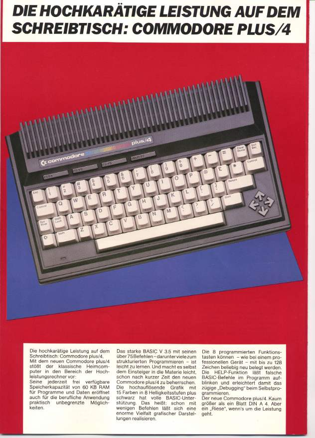 Under the Hood of the Commodore 116